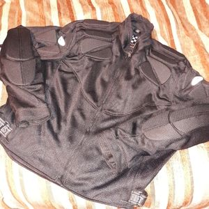 First racing padded ppe motorcycle riding jacket